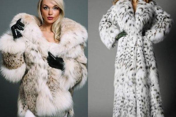 Дорогая роскошь зимы 2018 года: модные модели манто и шуб из рыси на фото
