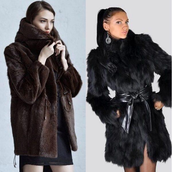 Женские шубы из меха сурка: фото модных моделей 2018 года