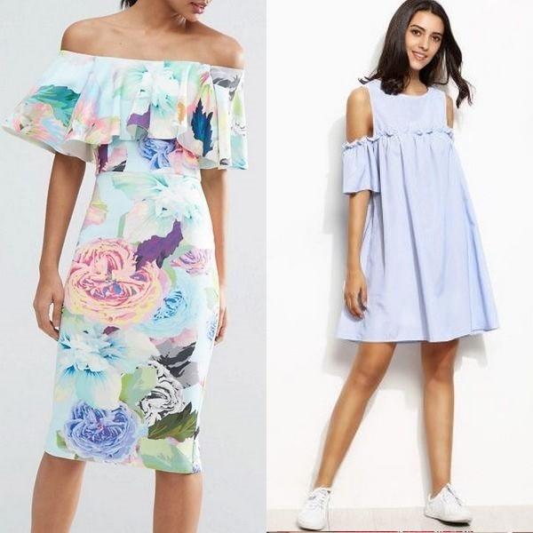 Модели, раскрывающие моду на длинное платье с воланами летом можно назвать  настоящими произведениями искусства. Это строгие и свободные изделия, ... 975b39d7f8b