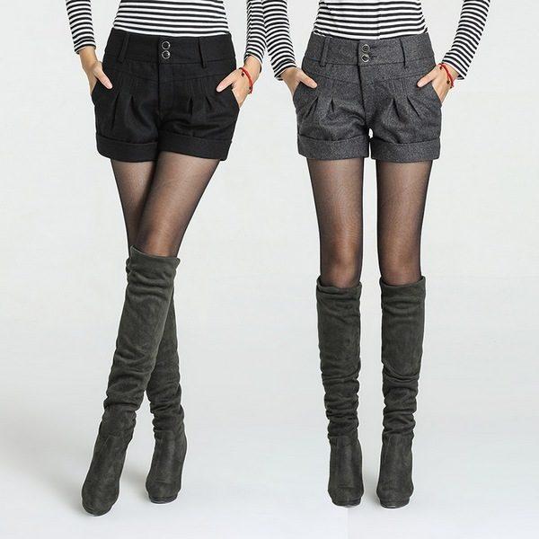 Зимние теплые шорты: модели и рекомендации стилистов
