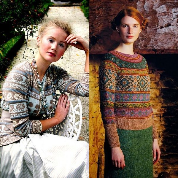 Норвежский свитер: мужские и женские модели