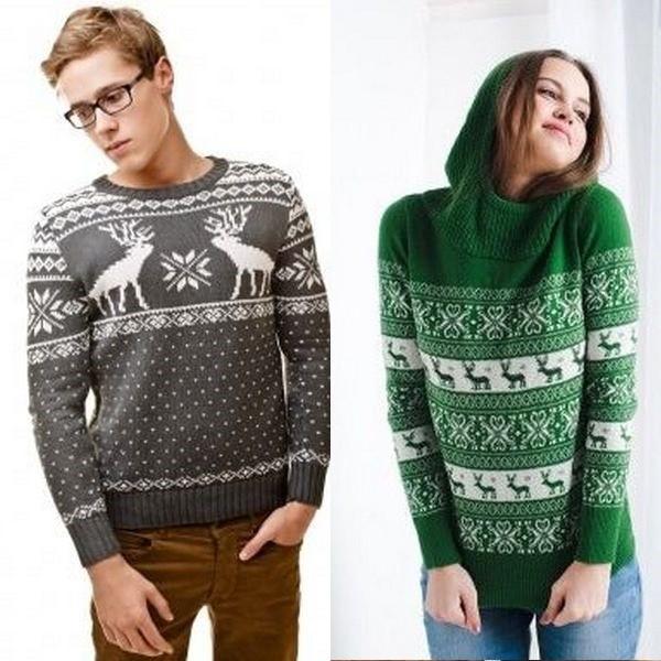 fbc6cde4e12a3 Самым популярным новогодним вариантом верхней одежды является норвежский  свитер с оленями. Изначально такая одежда была предназначена для рабочего  класса.