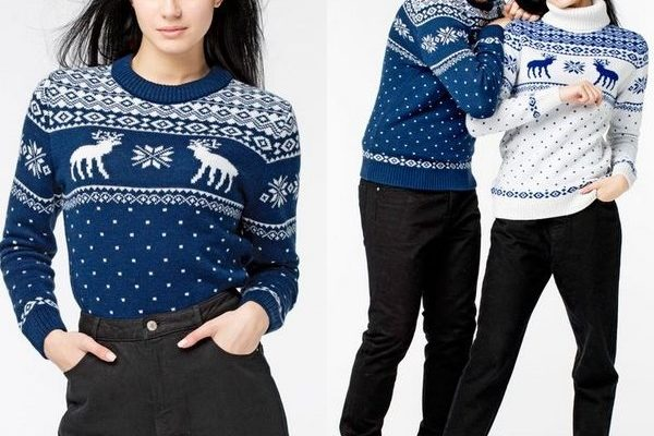 Свитер с оленями сезона 2018: базовая вещь зимнего и осеннего гардероба мужчин, женщин и детей