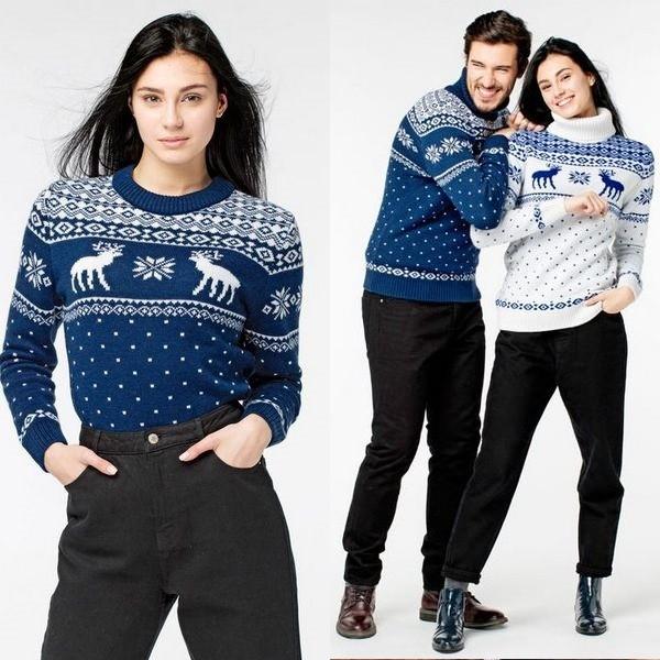 b7485f72df797 При создании финского свитера с оленями используют высококачественную  пряжу, которая может иметь всего 3 основных цвета: черный, белый и красный.