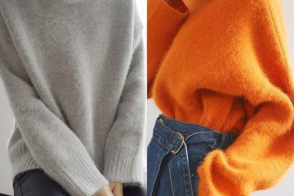 Свитеры с воротником на осень и зиму: популярные фасоны и модели
