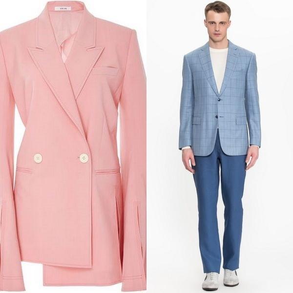 0d1e83d2be0 Женские и мужские шерстяные пиджаки  модные модели 2018 года - URBASTION