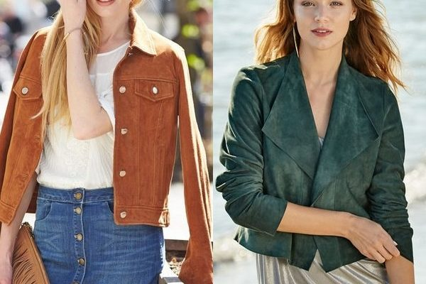 Замшевый пиджак для мужчин и женщин