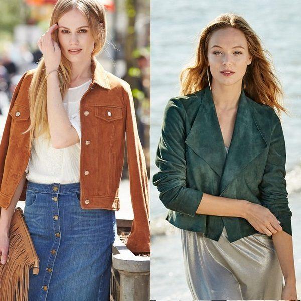 Замшевый пиджак: стильная вещица 2018 года для мужчин и женщин