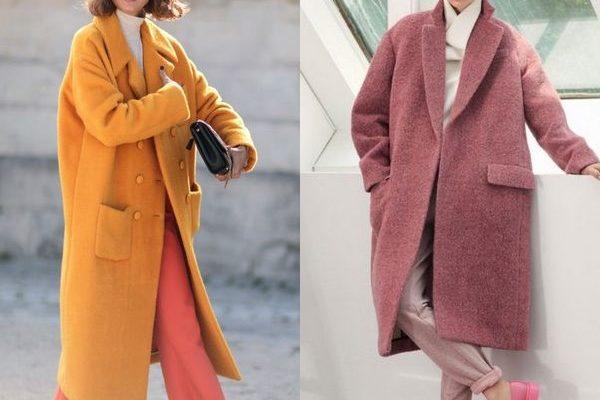 Пальто Оверсайз: популярная женская модель 2018 года