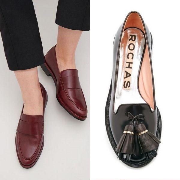 dd9ed7f07 Девушки с удовольствием носят лоферы с завязочками и на шнуровке.  Классический фасон и уникальный внешний вид — это характеристики, которые  понравились ...