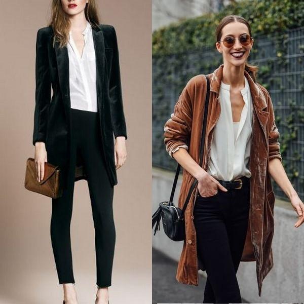 6ee6a801b93 Женский длинный пиджак  новый облик привычных образов - URBASTION