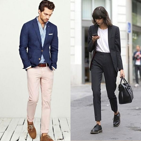 663fcfcf36d Короткие и укороченные пиджаки спортивного стиля — явно новинка 2018 года. Особенно  это касается мужской одежды. Не все представители сильного пола оценят ...