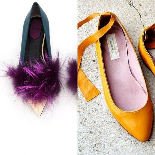 Кожаные балетки: удобная женская обувь на лето и весну 2019 года