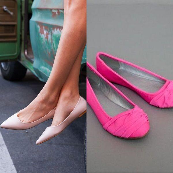 Розовые балетки: женственная и романтичная обувь на 2019 год