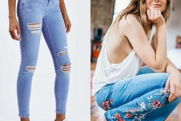 Летние джинсы: красивые повседневные модели 2018 года для девушек