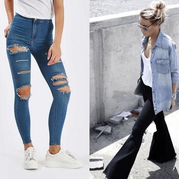 909c7960234 Поэтому девушки с легкостью выбирают оригинальные модели джинсов с  необычными принтами. В моде в этом сезоне простые изделия с кружевными  вставками.