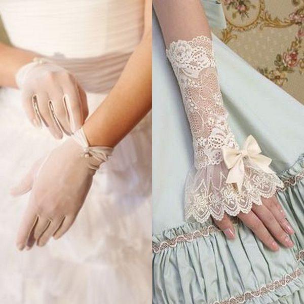 Свадебные перчатки: традиция современных невест