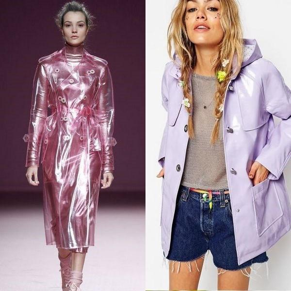 Модные тренды осени 2019: стильные зонты, дождевики, плащи и сапоги рекомендации