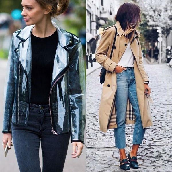 Модные тренды осени 2019: стильные зонты, дождевики, плащи и сапоги