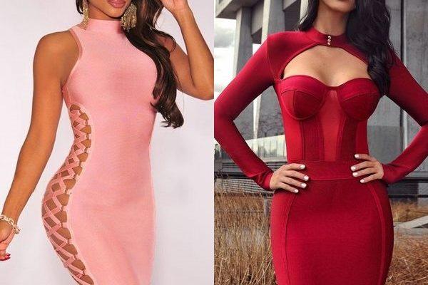 Бандажное платье: корректируем фигуру и делаем ее привлекательнее