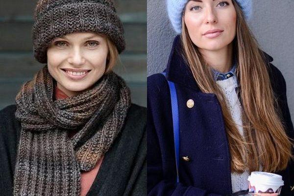 Трикотажные шапки для женщин и молодых девушек на 2018 год