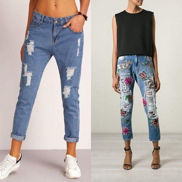 5fd5c71e916 В теплую погоду высокие девушки могут позволить себе носить укороченные  джинсы с босоножками на плоском ходу. С джинсами лучше всего смотрятся кеды  белого ...