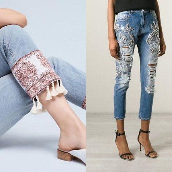Укороченные джинсы: разнообразие моделей на 2018 год