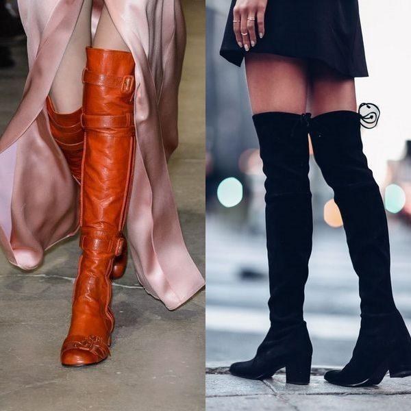 Ботфорты без каблука на 2018-2019 года: элегантная обувь для девушек