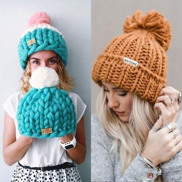 Шерстяные шапки: удачные фасоны и материалы