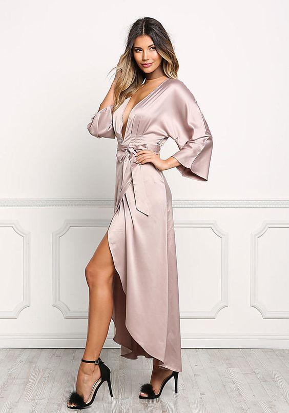1282ac381e6 Атласные платья 2019  красивые длинные и короткие модели из атласа