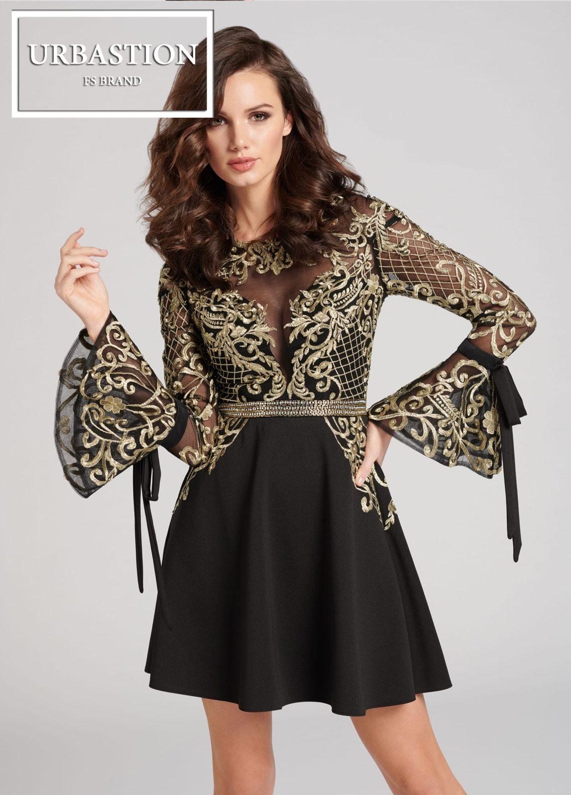 30b1b61a282 Прямое платье с короткой юбкой – сдержанный фасон. Если изделие до колена
