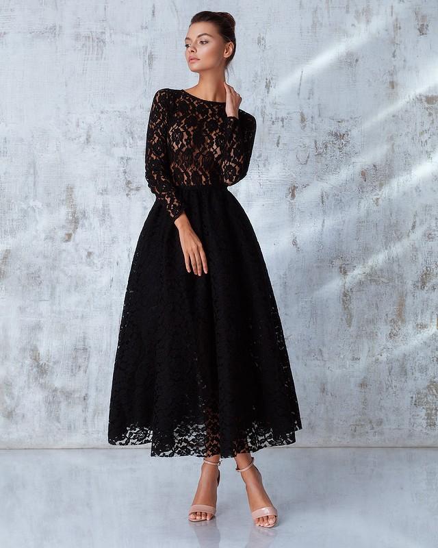 0979cc3341b Черное платье-солнце  почему оно универсально
