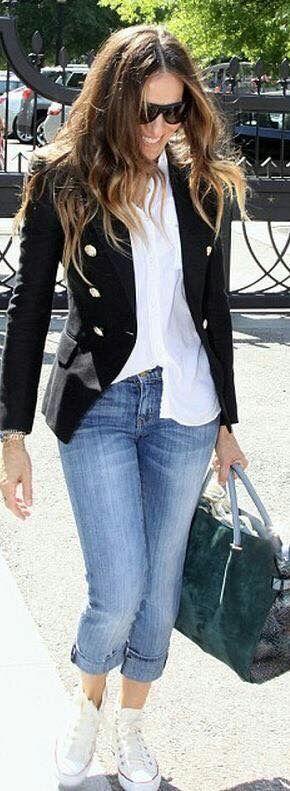 Пиджак с джинсами – классический и кэжуал стиль – Confetissimo ... | 791x290