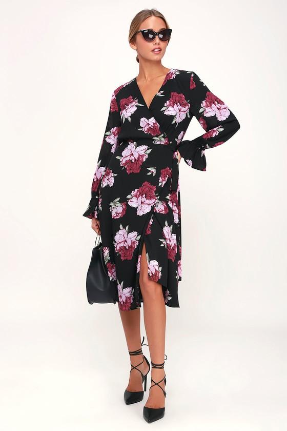 42f214918561e13 Платья с запахом 2019: фото длинных, коротких моделей, разные ...