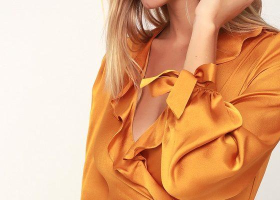 Желтое новогоднее платье: символ успеха в 2019 году