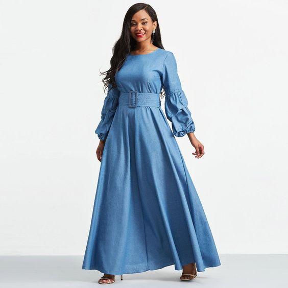 f8a5e30abaa Джинсовое платье и сарафаны 2019  фото моделей и советы по выбору