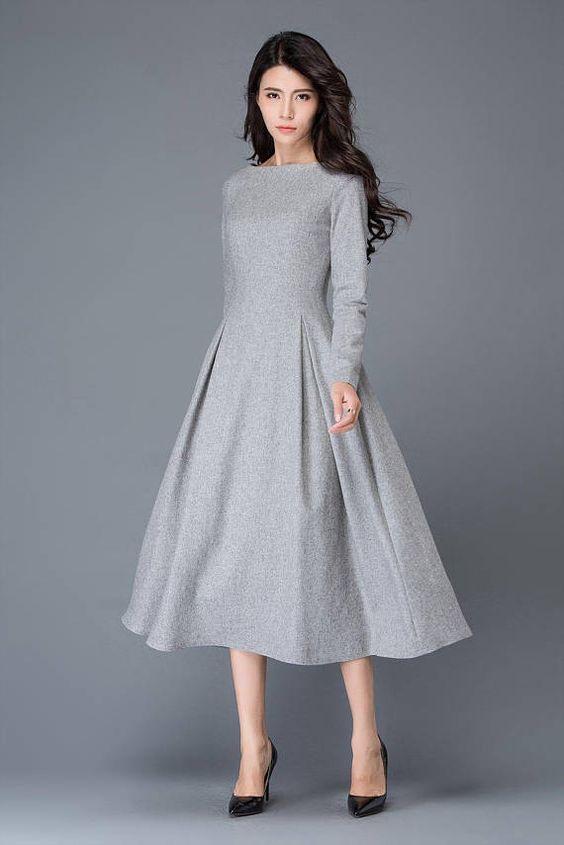 1ed03be2e75 В этом выпуске узнаете о современных шерстяных платьях и сарафанах