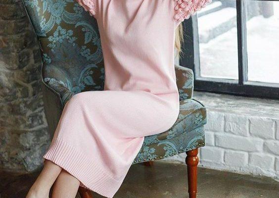 Женские платья и сарафаны из шерсти: варианты и образы на 2019 год
