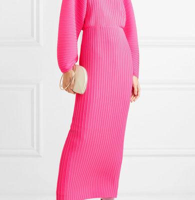 Платье плиссе: наряды 2019 года из плиссированного материала