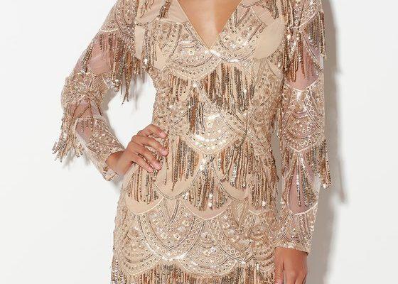 Платье с бахромой в тренде 2019 года: модное направление в мире моды