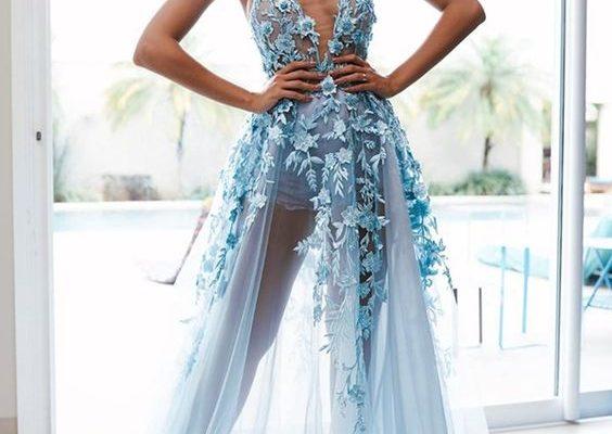Платья с декольте и глубоким вырезом, модели будоражащие фантазию