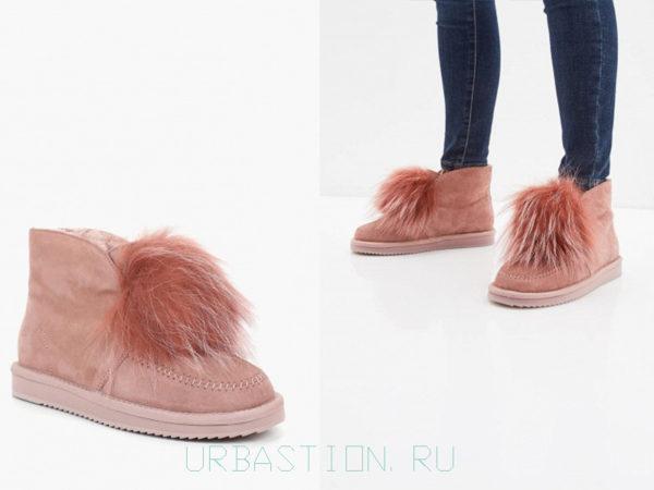 Угги с мехом: удобная зимняя обувь на 2019 год