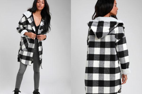 Женское черное пальто: подчеркнем достоинства фигуры?