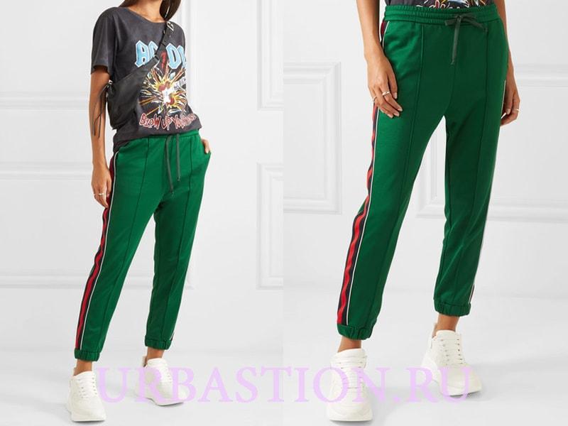 e69d6b8039c Кожаные брюки сочетайте с лаконичной одеждой приглушенных тонов