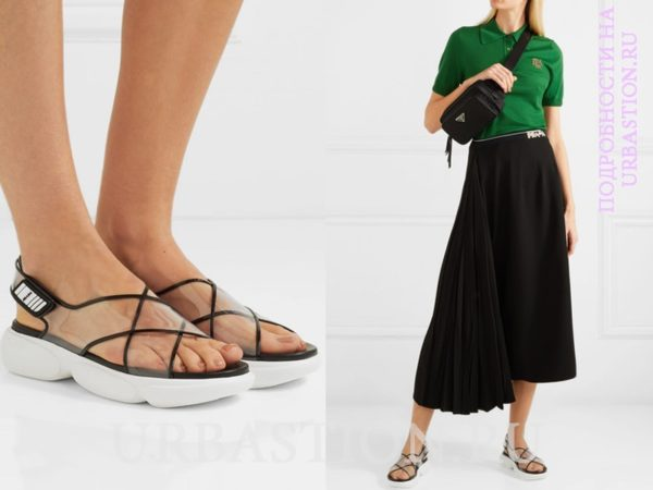 Босоножки без каблука для практичного образа